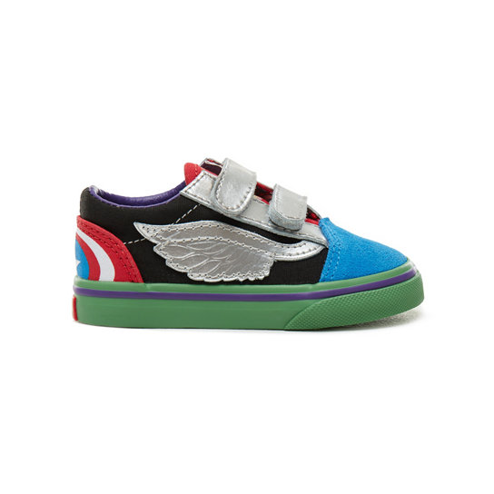 Toddler Vans X Marvel Old Skool V Shoes | Vans