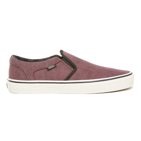 Washed Canvas Asher Shoes | Vans