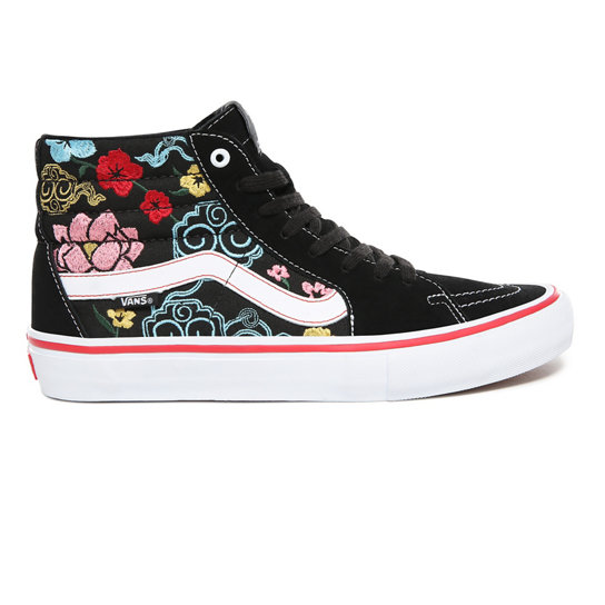 6b5385739050ce Lizzie Armanto Floral Sk8-Hi Pro Shoes
