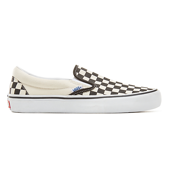 Checkerboard+Slip-On+Pro+Schuhe