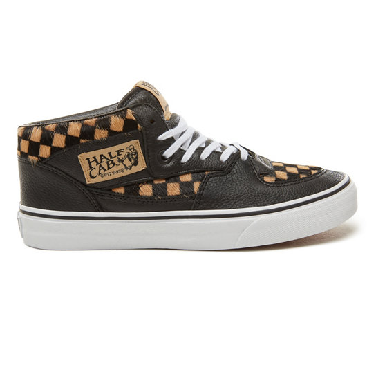 Calf Hair Checkerboard Half Cab Schuhe | Vans