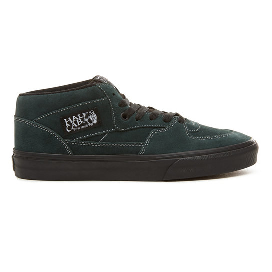 Suede Black Outsole Half Cab Shoes | Vans