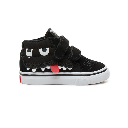 Toddler Suede Monster Face Sk8-Mid Reissue V Shoes (1-4 years) | Vans
