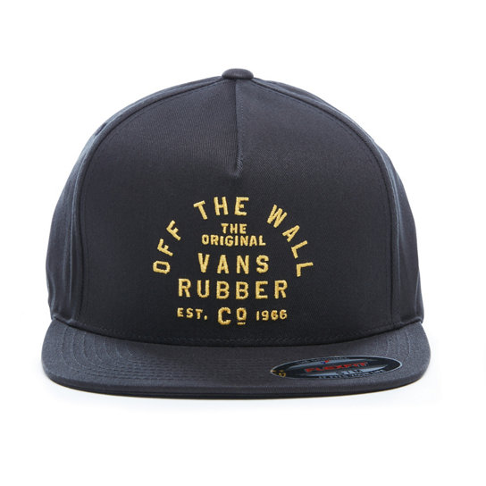 Stacked Rubber Flexfit Hat | Vans