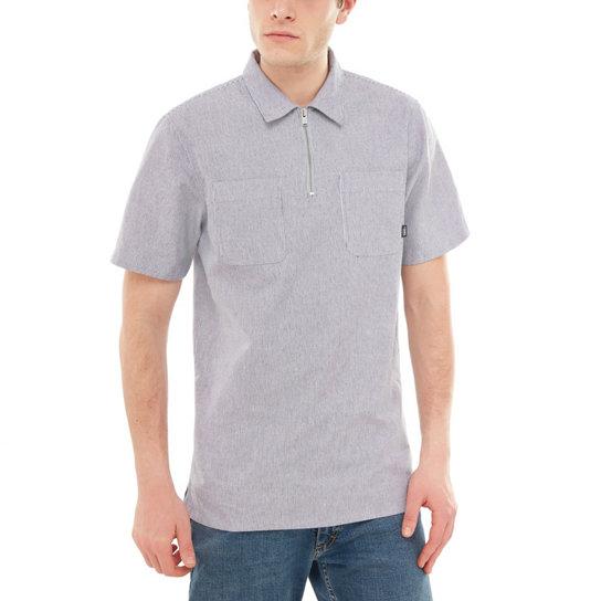 e04ca79636c489 Camicia con zip | Grigio | Vans