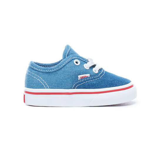 Denim 2-Tone Authentic Peuterschoenen (1-4 jaar) | Vans