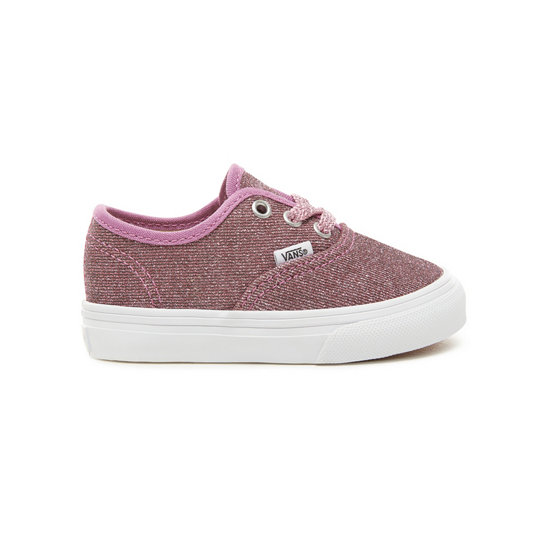 Lurex Glitter Authentic Peuterschoenen (0-3 jaar) | Vans