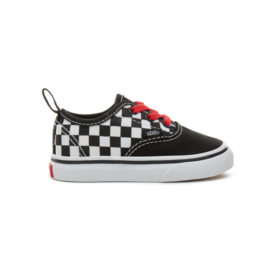 Toddler Checkerboard Authentic Elastic Lace Shoes (0-3 years) | Vans