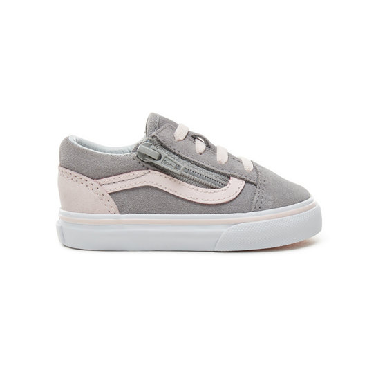 Toddler Suede Old Skool Zip Shoes (1-4 years) | Vans