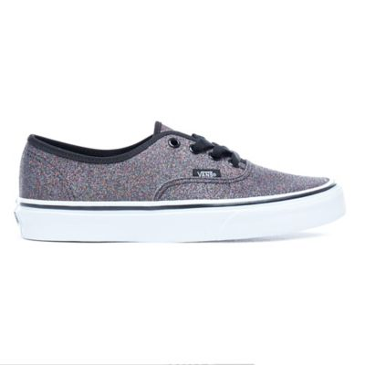 23a548025110 Glitter Authentic Shoes | Grey | Vans