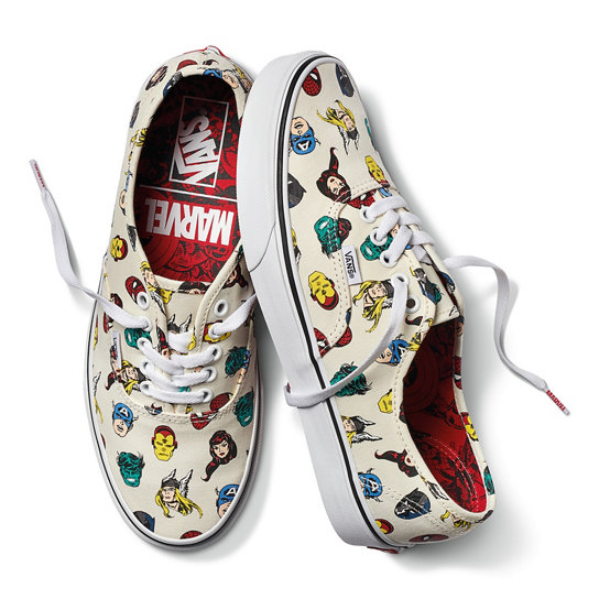 marvel vans shoes