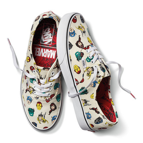 Zapatillas+Vans+X+Marvel+Authentic