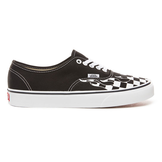 2425bb7fd4e9b Checker Flame Authentic Shoes