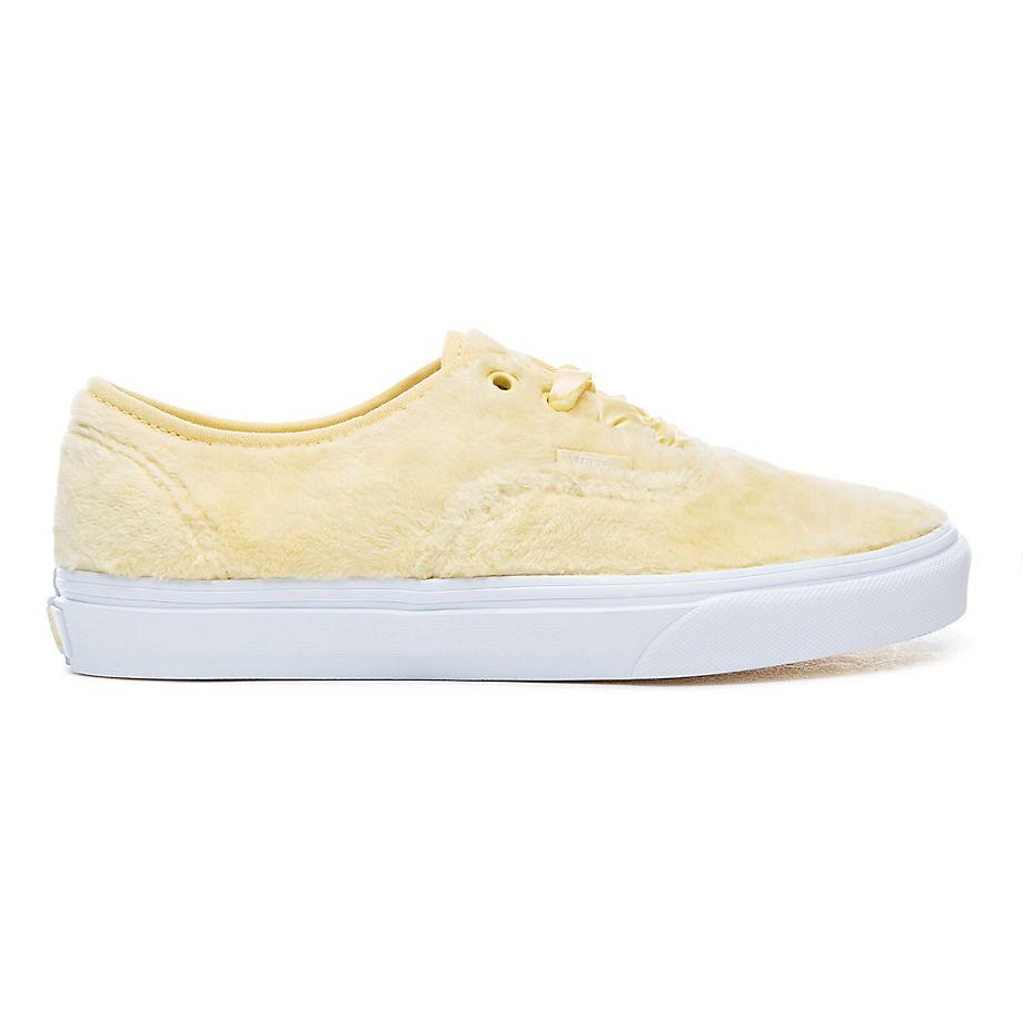 VANS Furry Authentic Shoes (sunshine) Men Yellow