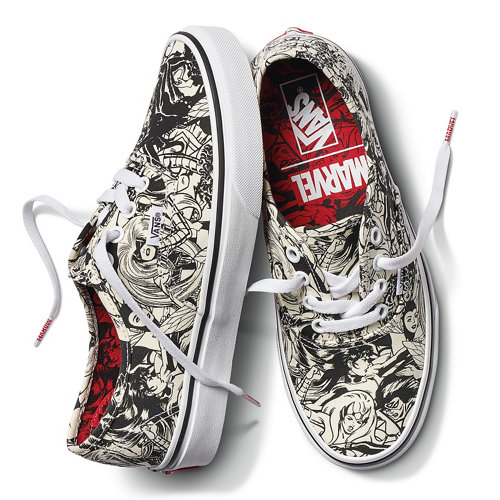 Chaussures+Vans+X+Marvel+Authentic