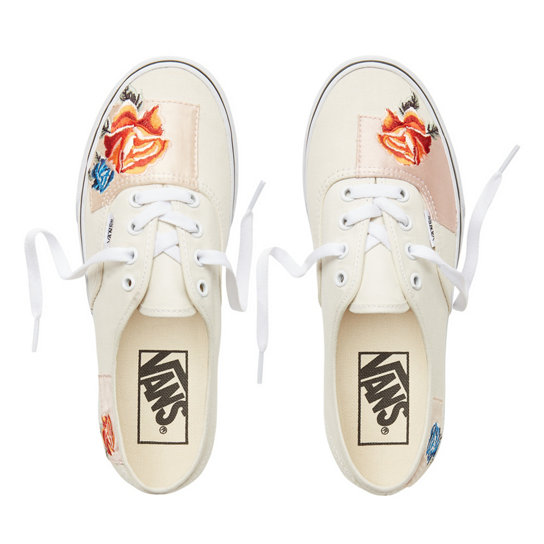 Satin Patchwork Authentic Shoes | Vans