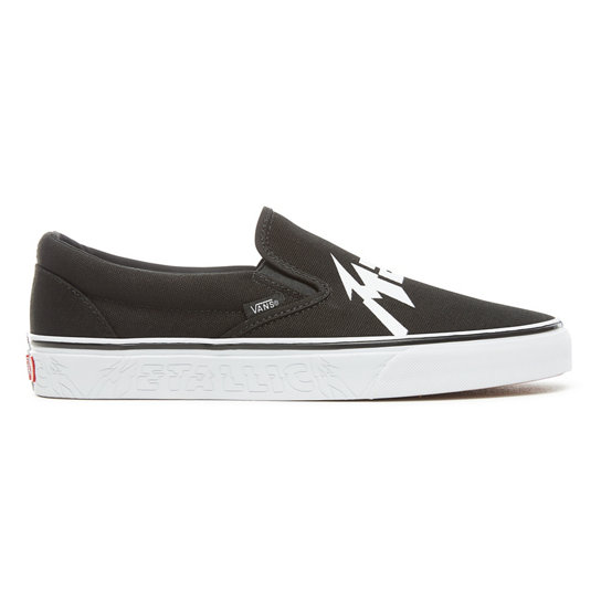 Vans X Metallica Classic Slip-On Shoes | Vans
