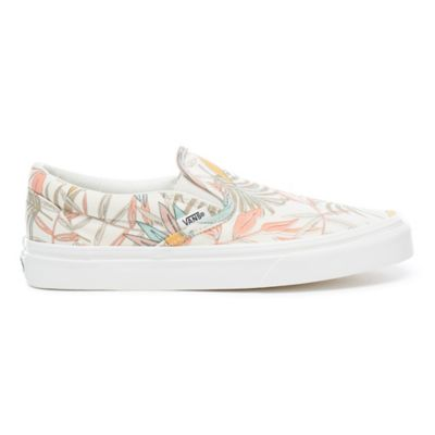 ee24450849 california-floral-classic-slip-on-shoes by vans