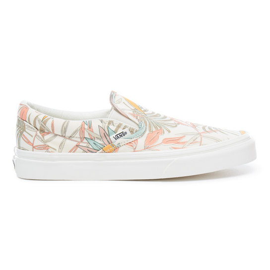 California Floral Classic Slip-On Shoes | Vans