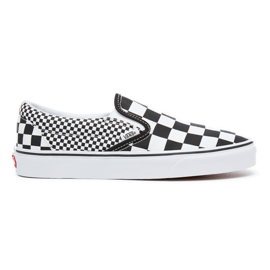 Mix Checker Classic Slip-On Shoes | Vans