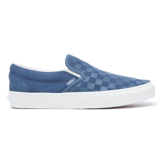 085369275f Checker Emboss Classic Slip-On Shoes