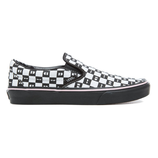 Vans X Lazy Oaf Checkerboard Classic Slip-On Shoes | Vans