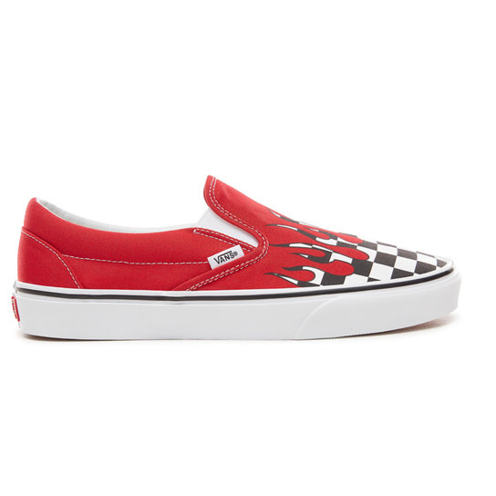 0e83982de7175 Checker Flame Classic Slip-On Shoes