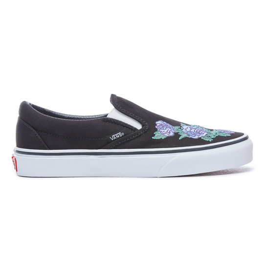 Rose Thorns Classic Slip-On Shoes | Vans
