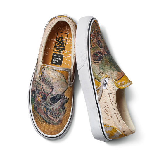 Vans X Van Gogh Museum Classic Slip On Shoes Multicolour Vans