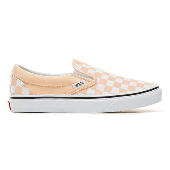30f2b80fb94cb8 Color Theory Checkerboard Classic Slip-On Shoes (Unisex)