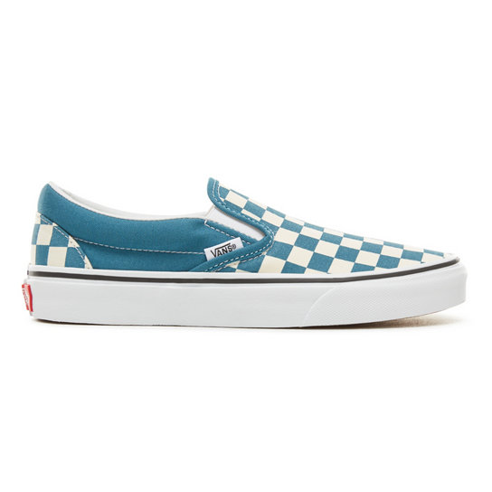 Color Theory Checkerboard Classic Slip-On Shoes (Unisex)  b7137ffee