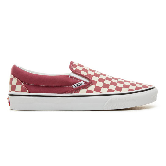 1871255b6be342 Color Theory Checkerboard Classic Slip-On Shoes (Unisex)