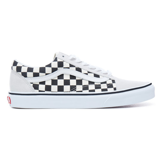 Checkerboard Old Skool Shoes | Vans