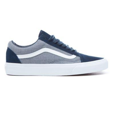Vans Old Skool Sneaker Skate ScarpeSuiting Blueberry/True Whiteva38g1q74