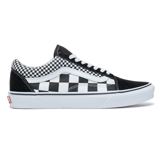 vans old skool mix checkerboard