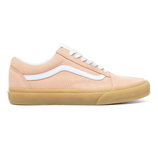 Deutschland Vans Old Skool Double Light Gum Schuhe Apricot