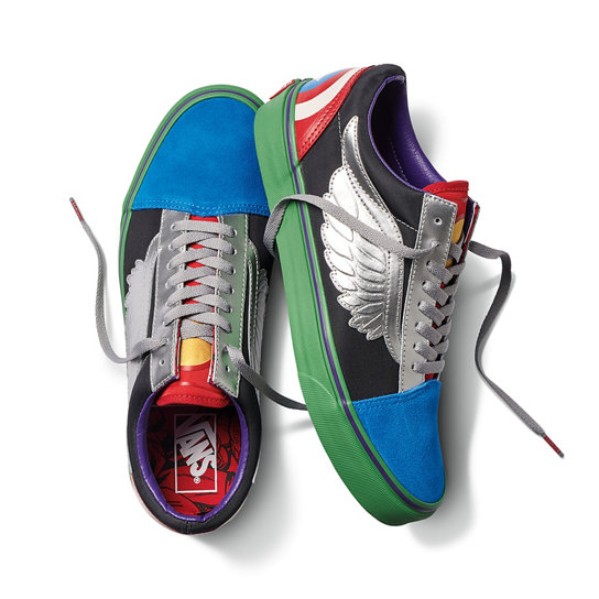 Vans X Marvel Old Skool Shoes  8e6c0bf366572