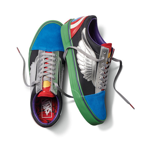 Scarpe+Vans+X+Marvel+Old+Skool
