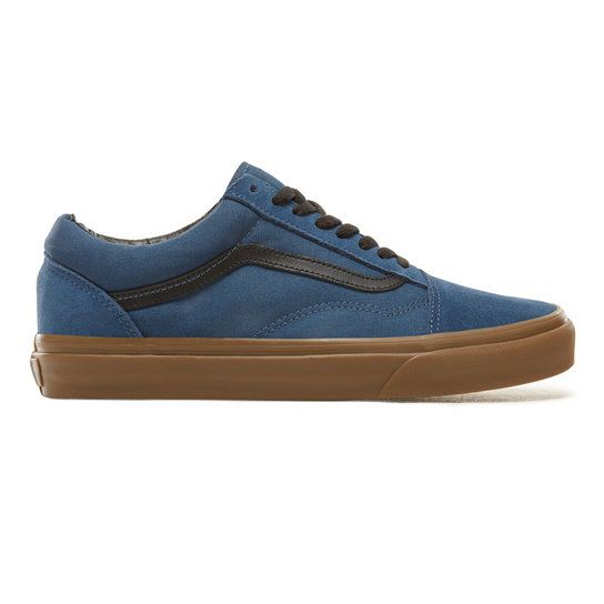 Suede Gum Outsole Old Skool Shoes | Vans