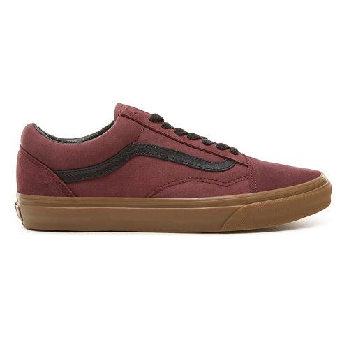 8e9ebf1d94c977 Suede Gum Outsole Old Skool Shoes