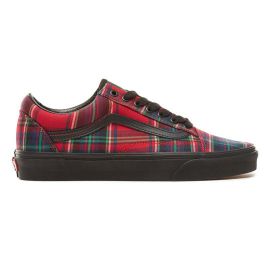 820b768d773c Plaid Mix Old Skool Schuhe