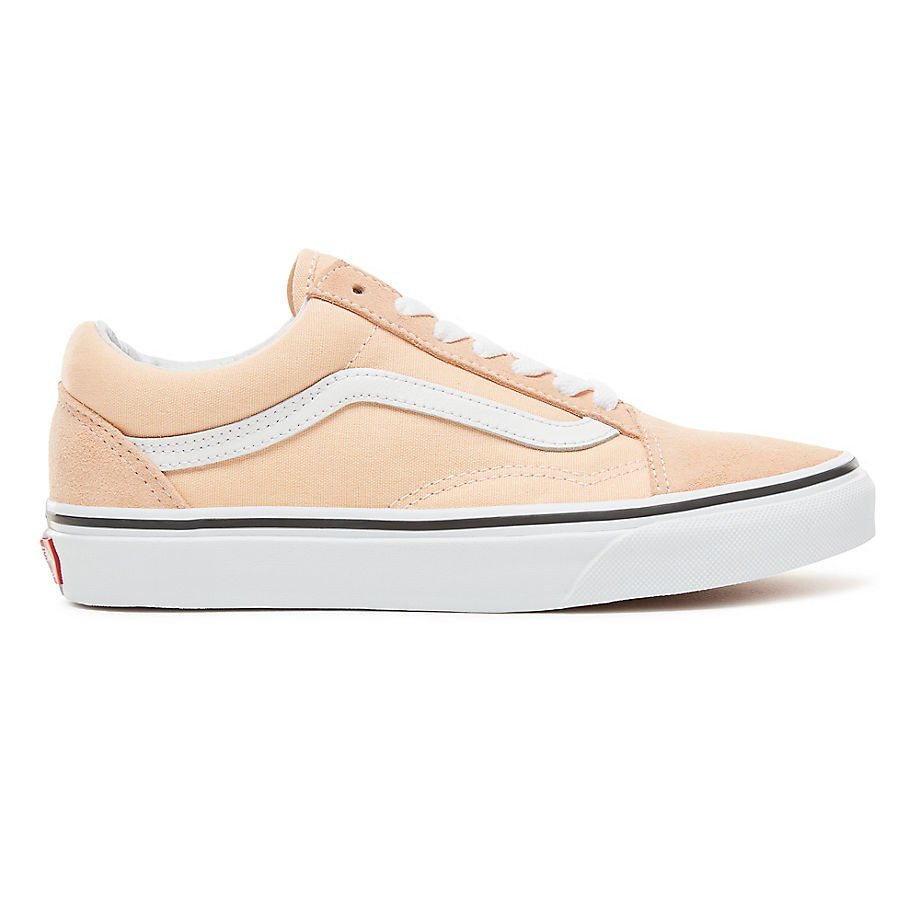 Sneaker Vans VANS Zapatillas Color Theory Old Skool (unisex) (bleached Apricot/true White) Hombre Rosa
