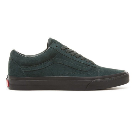74e0e665c90543 Suede Black Outsole Old Skool Shoes