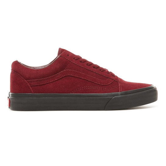 Suede Black Outsole Old Skool Shoes | Vans