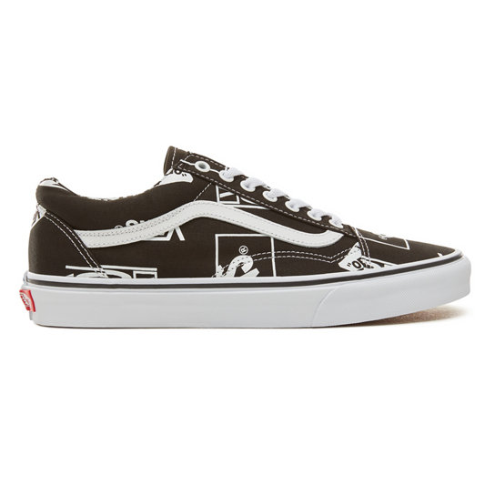 Logo Mix Old Skool Schoenen | Vans