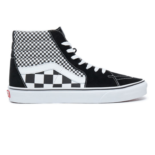 Sneakers VANS - Sk8-Hi VA38GEQ9B (Mix Checker) Black/True