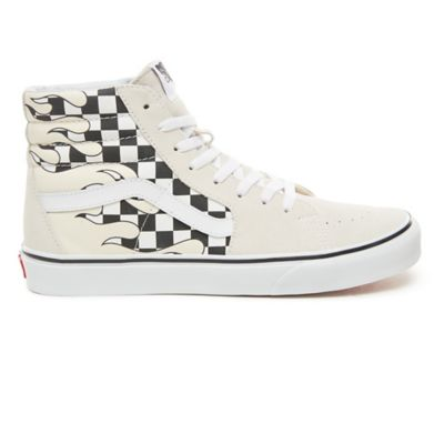 Chaussures Checker Flame Sk8-Hi