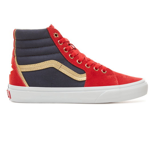 fb61ede33c Vans X Marvel SK8-Hi Shoes