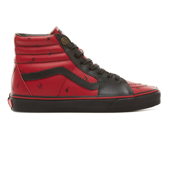 4e532446994 Vans X Marvel SK8-Hi Shoes