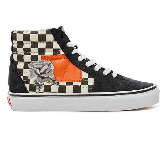 Suede Satin Patchwork Sk8-Hi Shoes | Vans